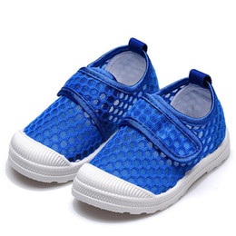 $enCountryForm.capitalKeyWord UK - Mhyons Baby Girl Boy Summer Shoes Air Mesh Soft Breathable Sandals Net Cloth Shoes Beach Shoes Children Boys Girls Cut-outs Y19051403