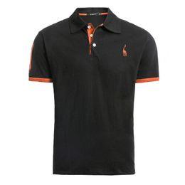 $enCountryForm.capitalKeyWord UK - Dropshipping 2019 Brand 100% Cotton T Shirt Men Solid Embroidery Short Sleeve T-Shirts Slim Fit Casual Mens T-Shirt Streetwear