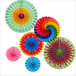 $enCountryForm.capitalKeyWord Australia - Round Paper Fan Suit Flower Set Wedding   Birthday Party home Decoration Activity Scene Fashion Decoration Photography background wall