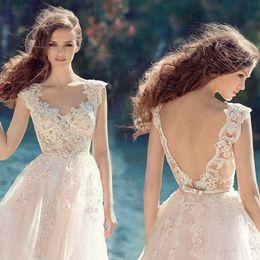 $enCountryForm.capitalKeyWord Australia - 2019 new net sarong back tow-tailed wedding dress travel photo light wedding dress