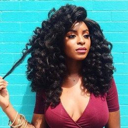 3Pack Fashion Curly Crochet Hair Extensions Jamaican Bounce Wand Curl Crochet Hair Ombre Braiding Wand Curl Synthetic Hair Extensions on Sale