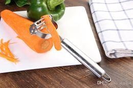 Kitchen Apple Peeler Australia - apple peeler kitchen supply hand tool Multifunction Stainless Steel Double Planing Grater Kitchen Tools Gadgets Peeling Free DHL SWX9-1274