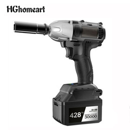 Discount brushless cars - HGhomeart Car Repair Tool Socket Wrench Cordless Electric Impact Wrench Drill Battery Brushless Power Tool Torque Wrench