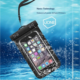 $enCountryForm.capitalKeyWord Australia - Wholesale See Vocation Universal iphone 7 6 6s plus samsung S9 S7 Waterproof Case bag Cell Phone Water proof Dry Bag