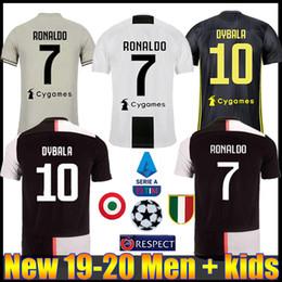 d77b3d576 New 2019 RONALDO JUVENTUS Soccer Jersey 18 19 20 JUVE 2020 Home Away DYBALA  HIGUAIN BUFFON Camisetas Futbol Camisas Maillot Football Shirt