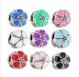 4f25f1d8f Pandora charms flower stoPPer online shopping - Fits Pandora Bracelets  Pumpkin Silver Safety Anti Drop Clip