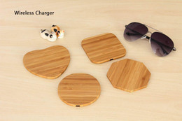 $enCountryForm.capitalKeyWord Australia - Universal Bamboo Wood Wooden Wireless Charger Pad Qi Fast Charging Pads for iPhone X Samsung Galaxy S9 S10 Plus
