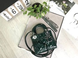 Lacquer Silver Australia - DOIR Lacquer Silver Hardware green Princess WOMEN HANDBAGS ICONIC TOP HANDLES SHOULDER BAGS TOTES CROSS BODY Bag CLUTCHES EVENING