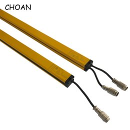 infrared photoelectric sensor Australia - CHOAN GM4004T 4 beams 40MM Machine Switch DC 24V relay Safety Light Grating Photoelectric Protector Infrared Area light Curtain Sensor