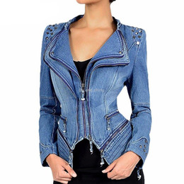 $enCountryForm.capitalKeyWord UK - Autumn Luxury Vintage Girls Slim Clothes Womens Denim Jacket Bomber Chaqueta Mujer Woman Jeans Biker Coat Plus Size 6XL 19SS