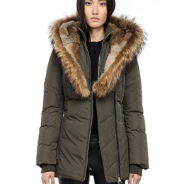 $enCountryForm.capitalKeyWord UK - Women's Down jacket Winter Mac Kayf F4 FitterI Down & Parkas Brand Real Raccoon Fur Collar White Duck Outerwear Coats for Women Fur Hood