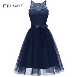 Wedding Dresses Sundress Style NZ - Jli May Lace Tutu Party Dress Women Clothes 3 Layers Mesh Halter Sleeveless Ball Gown Tulle Sundress Evening Wedding Elegant Q190510
