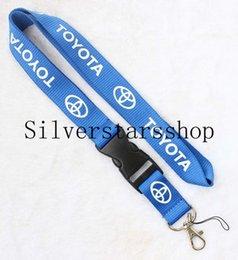 Cellphone Keys Australia - Newest Auto Car Logo Neck Strap Lanyard for Keyring Key Chains Cellphone Cord ID Card