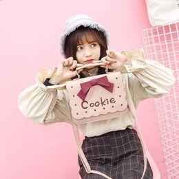 $enCountryForm.capitalKeyWord Australia - fashion bag spring 2019 candy cookie color women shoulder bag with bow cute special princess handbag messenger