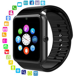 Bluetooth Smart Watch Sim Australia - Bluetooth Smart Watch Men Women Message Remind Health Camera Pedometer Touch Run Top Quality Sport Watch Support TF Sim Card For Android IOS