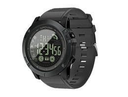 Sport Smart Watch Männer Professionelle 5ATM Wasserdichte Bluetooth Anruferinnerung Digital Wecker Für iOS Android Phone im Angebot