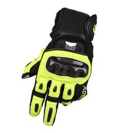 $enCountryForm.capitalKeyWord Australia - MOTOBOY touch screen sheepskin motorcycle gloves man four seasons fall resistant carbon fiber wear resistant NO.90