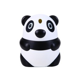 $enCountryForm.capitalKeyWord UK - Creative Panda Automatic Toothpick Holders Hand Press Fashion Wear-resistant Cartoon Cute Dining Table Plastic Toothpick Jar