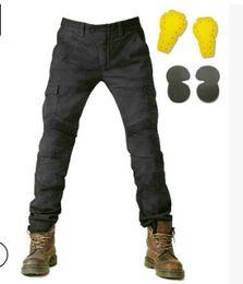 d364787665 2018 más nuevas ventas calientes Uglybros MOTORPOOL UBS06 jeans Ocio  motocicleta pantalones vaqueros pantalones de locomotora ejército motor  pantalones dos ...