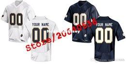Venta al por mayor de Cheap Custom Notre Dame College jersey Hombres Mujeres Jóvenes Niños Personalizado Cualquier número de cualquier nombre Camisetas de fútbol cosidas