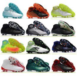 d2ceba299 High Ankle Soccer Boots Magista Obra II FG AG Football Shoes Socks Outdoor  Mens Football Cleats Magista ACC Superfly Soccer Shoes Boots