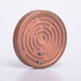 Labyrinth Games Australia - Mini Metal Labyrinth Maze Puzzle Board Toys Leisure Novelty Handheld Games