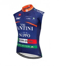Wholesale Factory direct sale team FANTINI Cycling Jersey Summer men MTB Bike Sleeveless vest Breathable Quick Dry racing Bicycle Clothes Y032810