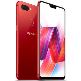 oppo full phone Canada - Original OPPO R15 4G LTE Cell Phone 6GB RAM 128GB ROM Helio P60 Octa Core Android 6.28 inch Full Screen 20MP Fingerprint ID OTG Mobile Phone