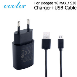 max plug 2019 - ocolor For Doogee S30 Y6 MAX Charger And USB Data Cable Plug Charging Head For Doogee S30 Y6 MAX Mobile Phone Accessorie