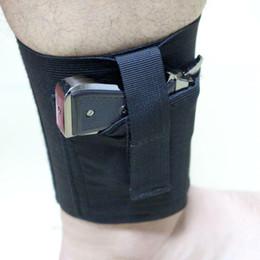 Caza oculta llevar tobillo funda Universal derecha izquierda tobillo pistola funda para pistolas medianas pequeñas en venta