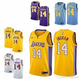 3aa59ebc2df 2019 23 LeBron James Laker Jersey The City Los Angeles Kobe 24 Bryant 8  Lonzo 0 Kuzma Brandon 14 Ingram Basketball Jersey NEW