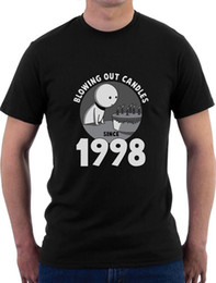 $enCountryForm.capitalKeyWord Australia - Blowing Out Candles Since 1998 18th Birthday Gift Idea T-Shirt Funny