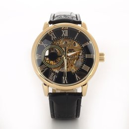 $enCountryForm.capitalKeyWord Australia - Men Luxury 3D Hollow Engraving Case Roman Numbers Skeleton Dial Mechanical Watch Engraved watch mechanical watches for