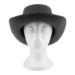 $enCountryForm.capitalKeyWord UK - NEW Women Vintage Hard Felt Hat Wide Brim Fedoras Trilby Wide Brim Panama Hat Gangster Sun Cap 2017 Hot Fashion
