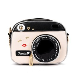 ladies camera NZ - Mini Messenger Bags 2019 Spring Girls Casual Lady Camera Shoulder Bag Women Handbag Chain Day Clutches Female Crossbody Bag Sac A Main