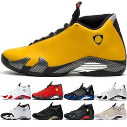 $enCountryForm.capitalKeyWord Australia - Men 14 Cheap Basketball Shoes 14s Candy Cane Black White Yellow Red Desert Sand Dmp Mens Athletic Sports Sneakers Size 8-13