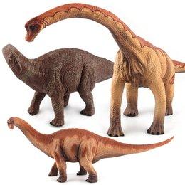 [Shell Balık] Klasik Oyuncak Dinozor Modeli Brachiosaurus Ejderha Bulmaca Ejderha Brontosaurus Jurassic Dinozor Dünyası
