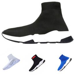 $enCountryForm.capitalKeyWord Australia - 2019 New Wool Knit speed Trainer Sneakers Classic Brand designer Mens Womens Top Fashion Flat Sock Shoes
