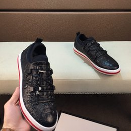 $enCountryForm.capitalKeyWord Australia - In 2019, new casual shoes, red stripes on soles are simple and fashionable, low-key luxury, top designers. Color: black, size: 38-44