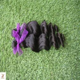 "6a Deep Wave Hair Australia - Black Color Deep Wave Malaysian Virgin Hair Extensions ""10-30"" inch 100% Human Hair Weaving 6a Unrpcessed Non Remy Hair Extensions"