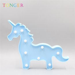 $enCountryForm.capitalKeyWord NZ - Cute LED Night Lights Flamingo Unicorn Giraffe Butterfly Star Table Wall Lamp Cartoon Animal Decoration Home Lighting Gift New 2019
