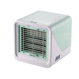 $enCountryForm.capitalKeyWord Australia - Mini USB Portable Air Conditioner Humidifier Purifier Light Desktop Air Cooling Fan Cooler Fan For Office Room