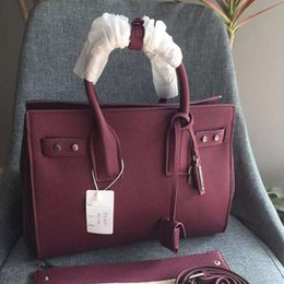 $enCountryForm.capitalKeyWord Australia - Fashion Bag Famous Deigner Shoulder Organ Bag Woman Black And Plum High Quality Hand Bag HFBYBB070