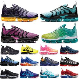 cheaper running shoes Canada - Cheaper New Regency Purple Active Fuchsia Megatron TN Plus Running Shoes Spirit Teal GRAPE Geometric Lemon Lime Hot Mens women sneakers