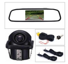 $enCountryForm.capitalKeyWord Australia - Factory direc 4.3 inch Car Rearview Mirror Monitor Auto Parking Vedio + LED Night Vision Backup Reverse Camera CCD Car Rear View Camera