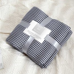 Cotton quilt Coverlet online shopping - Fashion Bed Comforter for Kids Sleeper Blanket Cover Journey QUilt Home Couch Chaise Longue Coverlet Plaid