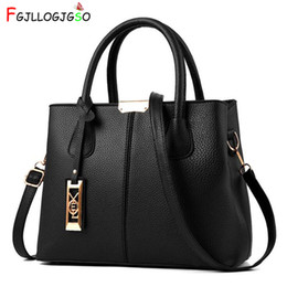 $enCountryForm.capitalKeyWord NZ - Fgjllogjgso Women's Handbag 2018 New Women Messenger Bag Casual Women Pu Leather Handbags Lady Classic Shoulder Bags Female Tote Y19061705