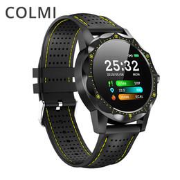 $enCountryForm.capitalKeyWord Australia - Colmi Sky 1 Smart Watch Men Ip68 Waterproof Activity Tracker Fitness Tracker Smartwatch Clock Brim For Android Iphone Ios Phone T190629