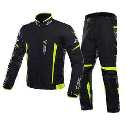 $enCountryForm.capitalKeyWord Australia - MOTOCENTRIC Motorcycle Jacket Man Set Windproof Waterproof Motorbike Riding Moto Jacket + Pants Suit Body Armor Moto Protection