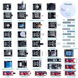 Mega Drive Australia - Freeshipping 37-in-1 Sensor Module Kit for UNO R3, MEGA, NANO with gift